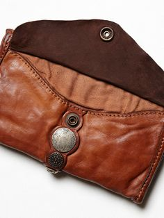 Campomaggi Amaretto Wallet at Free People Clothing Boutique