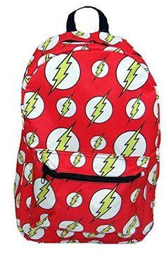 bff162e8560e DC Comics The Flash Symbol Logo All-over Print Sublimated Backpack