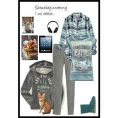 """Saturday morning !"" by zouly on Polyvore"