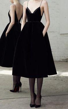 Mila Velvet Midi Dress by ALEX PERRY for Preorder on Moda Operandi