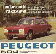 70-luvulta, päivää !: Peugeot-mainos - 1970 Advertising Sales, Old Commercials, Good Old Times, Old Toys, Vintage Ads, Volvo, Peugeot, Finland, Mercedes Benz