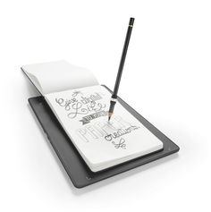 la Slate - iskn - $159 for drawing mat and ring that works with any drawing tool, mat can store images independently to be uploaded later