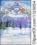 Clipart Of A Snowman With Welcome Text 3 Royalty Free Illustration Welcome Pictures, Free Illustrations, Vector Graphics, Snowman, Royalty, Clip Art, Cartoon, Gallery, Royals