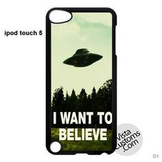 I Want To Believe XFiles Phone Case For Apple, iphone 4, 4S, 5, 5S, 5C, 6, 6 +, iPod, 4 / 5, iPad 3 / 4 / 5, Samsung, Galaxy, S3, S4, S5, S6, Note, HTC, HTC One, HTC One X, BlackBerry, Z10