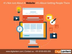 #Digilantern has the creative as well as technical expertise to design your website integrated with our entire digital marketing solutions. We have an experienced in house expertise to deliver better digital experience using responsive design techniques.