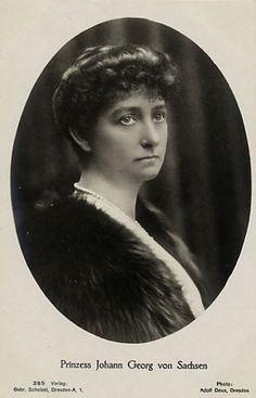 Princesse Maria-Immaculata de Bourbon-Siciles épouse du prince Johann-Georg de Saxe