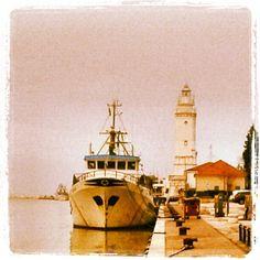 Il porto di Rimini, tra passato e presente - Instagram by emiliosalvatori