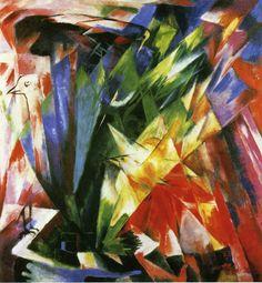 Birds 1914 - Franz Marc