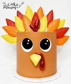 Call or email to order your Thanksgiving celebration desserts today. Thanksgiving Cakes, Thanksgiving Celebration, Thanksgiving Turkey, Thanksgiving Birthday Parties, Holiday Cupcakes, Holiday Desserts, Pretty Cakes, Cute Cakes, Awesome Cakes