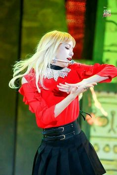 BLACKPINK || Lisa ('PLAYING WITH FIRE' @ 2016 Melon Music Awards)