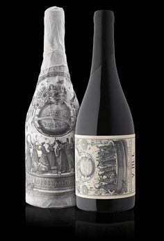 #Wine #packaging by Stranger & Stranger