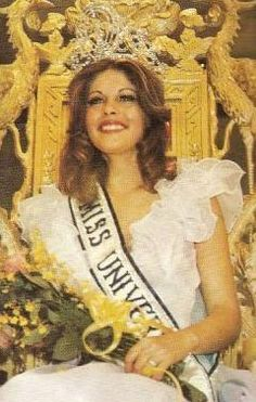 Rina Messinger from Israel, Miss Universe 1976