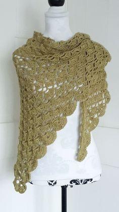crochet lacy shawl by KnotSoKnaffKnits on Etsy Star Blanket, Acrylic Wool, Drops Design, Little Star, Crochet Shawl, 2 Colours, Shawls, Pattern Design, Lace