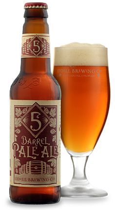 5 Barrel Pale Ale - Odell Brewing Company, Colorado, United States
