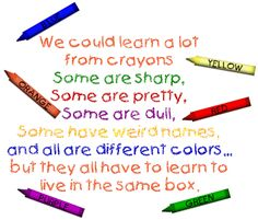 learning from crayons