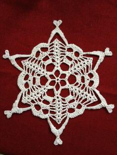 Ravelry: Erishkigal Skully Snowflake pattern by Jessamyn Kennedy