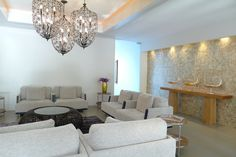 Beachfront is a Luxury Condo in Phuket in a new Boutique Luxury Hotel situated in the most scenic part of Phuket which is known as Bangtao near Kamala and Patong Luxury Condo, Condos, Phuket, Chandelier, Ceiling Lights, Beautiful, Home Decor, Candelabra, Decoration Home