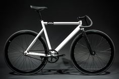 6061 Black Label - Pearl White : Fixie Bikes | State Bicycle Co.