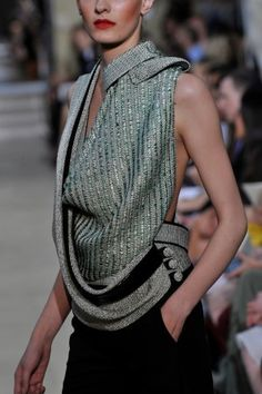 interesting top via Bouchra Jarrar