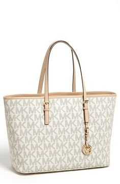 MICHAEL Michael Kors 'Jet Set - Medium' Tech Tote available at #Nordstrom