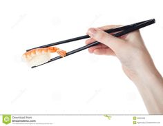 hands with chopsticks sushi - Google Search