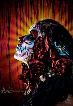Catrina Dia de Los Muertos by Andy Hartmark