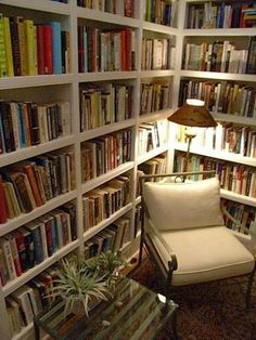 No, not a bookie as in taking bets, but a person who absolutely adores books! My honey and i had our our first home that I designed, custom...