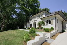 """Traditional Home with Matching """"Garden Folly"""" in Atlanta"""