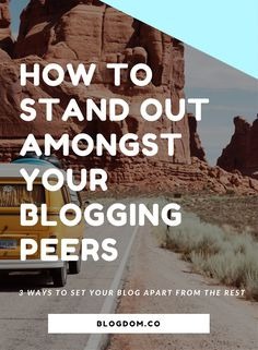 How To Stand Out Online | Stand Out Online | Content Marketing | Blogging Tips | Business Tips