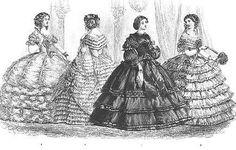 Crinoline dresses 1860 - 1860s in Western fashion - Wikipedia, the free encyclopedia