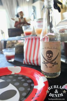 Pirate themed party ideas and tons of free pirate printables!