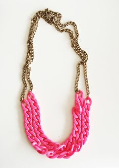 charlotte chain necklace DIY inspiration