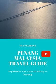 Penang is definitely more than food~Do you know you can actually do hiking in Penang too? On an ideal weather, you can also catch sea cloud! Top Travel Destinations, Travel Tips, Malaysia Travel Guide, Did You Know, Knowing You, Hiking, Weather, Clouds, Sea