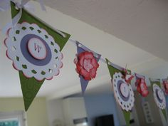 stampin up  Wimpel -Kette  Pendant Banner
