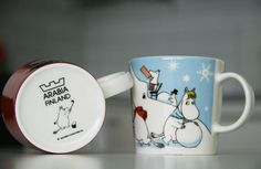 Muumi mukit / Moomin mugs by Arabia - highly collectible mugs from Finland. Moomin Mugs, Moving Boxes, Lifestyle Online, Marimekko, Scandinavian Design, Finland, Tableware, Kids, Young Children