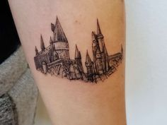Mini Tattoos, Cute Tattoos, Unique Tattoos, Beautiful Tattoos, Small Tattoos, Temporary Tattoos, Hogwarts Tattoo, Hp Tattoo, Piercing Tattoo