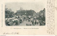 62  HENIN LIETARD  MARCHE ET RUE ELIE GRUYELLE - France