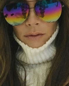 Victoria Beckham's Sunglasses Have Double Taps Written All Over Them