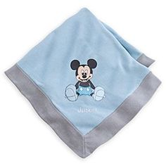 Disney Mickey Mouse Layette Baby Blanket | Disney StoreMickey Mouse Layette Baby Blanket - Our Mickey Mouse Layette baby blanket adds colour and cosiness to any cot. Made from soft cotton, its charming two-tone design is finished with a cheerful appliqu� Mickey.