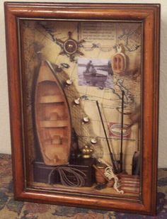 Fishing shadow box