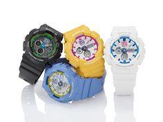 Đồng hồ Casio Baby-G BA-120 điệu đà cho bạn gái