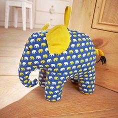elephant door stop by ulster weavers | notonthehighstreet.com