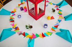 Handmade Geometric Wedding via Green Wedding Shoes
