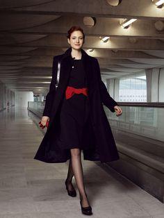 エールフランス:客室乗務員の制服。 フランス。                                                                                                                                                                                 もっと見る