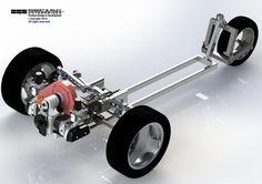 Other VW Vehicles/Volksrods - View topic - vw trike frontend using bug suspension - workable? Vw Trike, Trike Kits, Trike Motorcycle, Reverse Trike, E Quad, Electric Trike, Diy Go Kart, Custom Trikes, Sand Rail