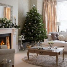 Shabby in love: Christmas living room