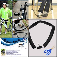 What a great idea! DIY PROJECT. super easy to make Bouncy bands. great for students with ADHD or for any student who just needs to move. ** recycled bike tire & PVC pipe. Many other great resources on this website.