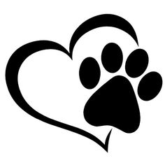 You'll be catlike when you sport this Cat Paw Print Win. Dog Tattoos, Cat Tattoo, Animal Tattoos, Cat Paw Print Tattoo, Paw Print Art, Trendy Tattoos, Unique Tattoos, Window Decals, Vinyl Decals