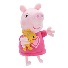 Peppa Pig Talking Soft Toy - Bedtime Peppa