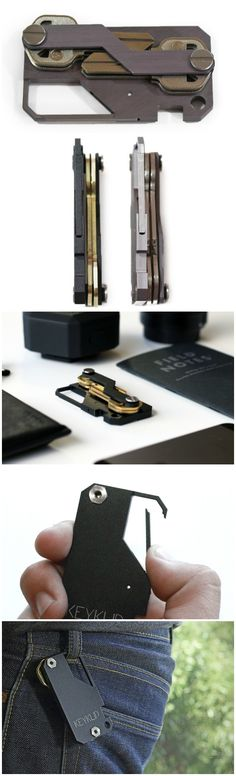 The KEYKLIP is the perfect little tool to keep your keys organized and neat. It clips anywhere and gets rid of unwanted bulk, unlike those lame conventional key rings! #affiliate